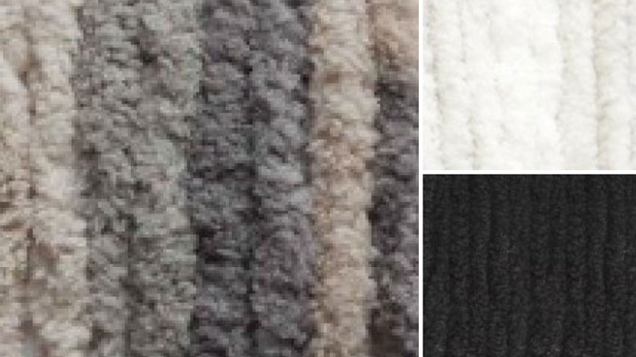 Silver Color Combo by Bernat Blanket Yarn