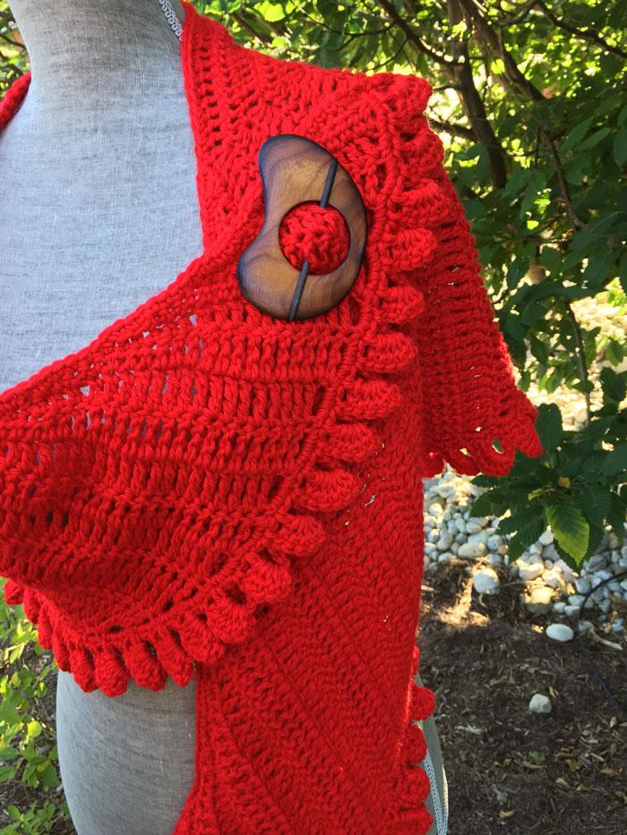 Crochet Slice Of Nice Shawl Tutorial The Crochet Crowd