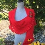 Crochet Slice of Nice Shawl + Tutorial