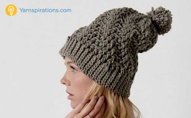 Stepping Texture Hat Stepping Texture Hat Stepping Texture Hat Bernat ... b5295b6d019