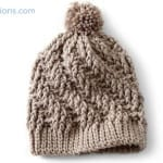Crochet Stepping Texture Hat + Tutorial