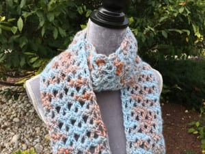 Crochet Uplands Scarf