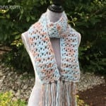 Crochet Uplands Scarf + Tutorial