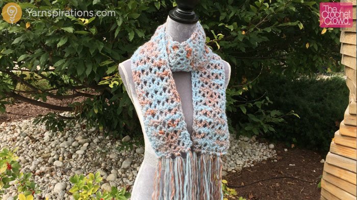 Crochet Uplands Scarf