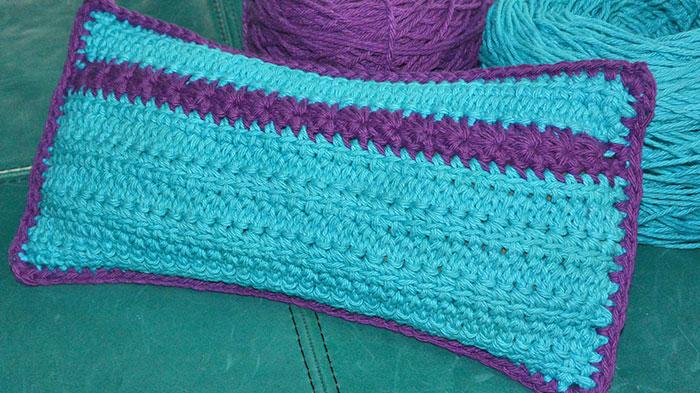 Crochet Comfort Rice Bag + Photographic Tutorial