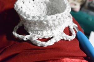 Round 8 - Crochet Snowflake Centerpiece Pattern