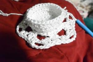 Round 9 - Crochet Snowflake Centerpiece Pattern