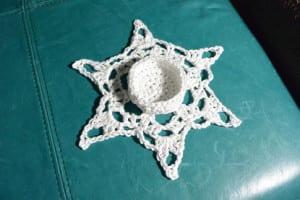 Round 10 - Crochet Snowflake Centerpiece Pattern
