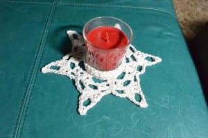 Blocking - Crochet Snowflake Centerpiece Pattern