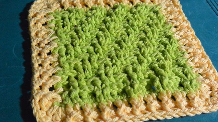 Crochet Lemon Lime Dishcloth Pattern