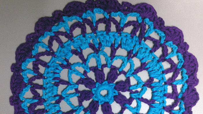 60 Crochet Mandala Patterns The Crochet Crowd Extraordinary Free Crochet Mandala Pattern