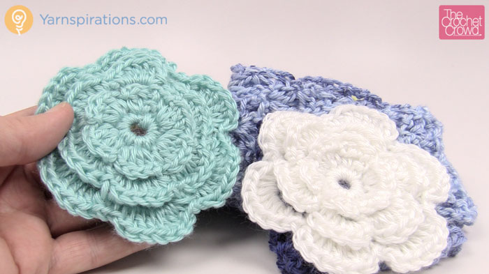 Crochet Perfect Flower Pattern