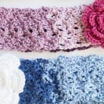 Crochet Cozy Posy Headband + Tutorial