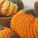 Crochet Large Pumpkin + Tutorial
