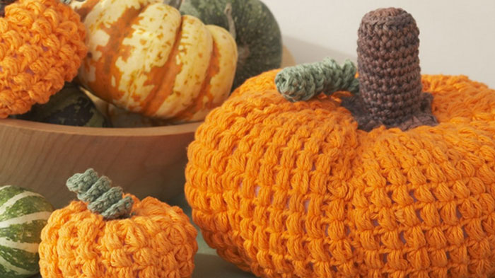 Crochet Large Pumpkin Pattern