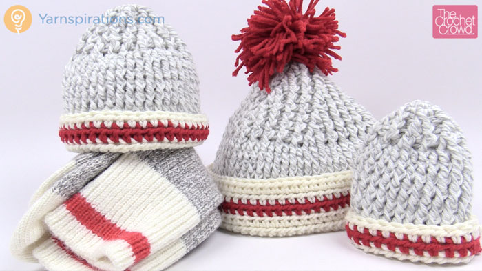 Sock Inspired Crochet Hat Patterns