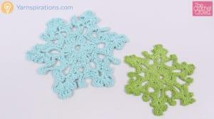 Crochet Twinkling Snowflake