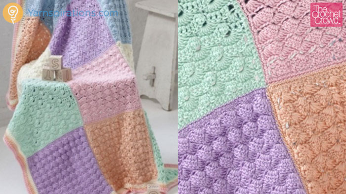 Famous Sampler Afghan Crochet Pattern Frieze - Easy Scarf Knitting ...