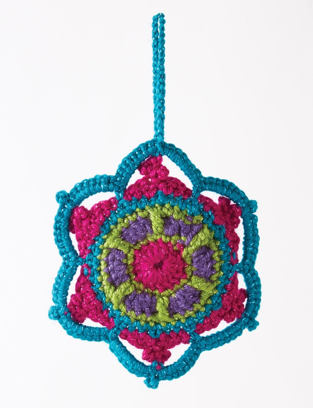Crochet Jewelled Snowflake + Tutorial - The Crochet Crowd®