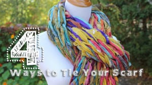 4 Ways to Tie Your Scarves by Darn Good Yarn