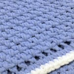 Crochet Baby Blanket for Beginners + Tutorial