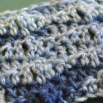 Blue Waves Baby Blanket by Jeanne Steinhilber
