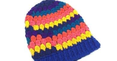 Candy Store Kids Crochet Hat Pattern