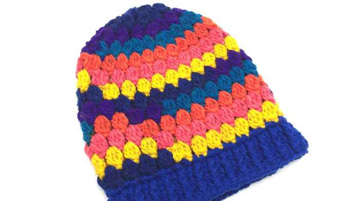 Crochet Candy Store Hats for Kids Pattern