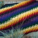 Catherine Wheel Afghan