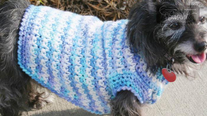 Crochet Simple Dog Sweater Pattern