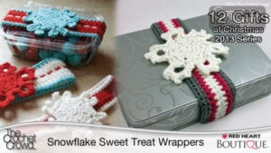 Crochet Sweet Treat Wrappers