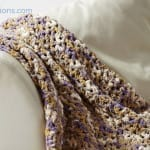 Crochet Easy Pleasie Blanket + Tutorial