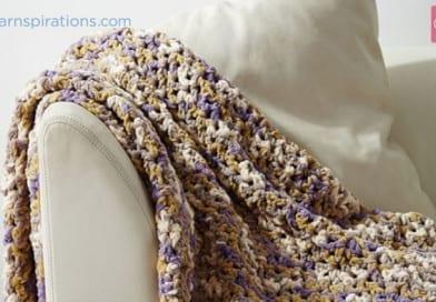 Crochet Easy Pleasie Blanket + Tutorial