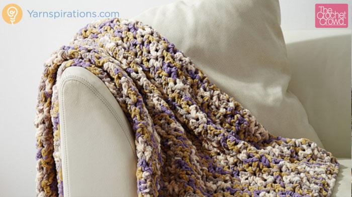 Crochet Easy Peasy Blanket Pattern + Tutorial