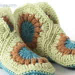 Crochet Granny Slippers + Tutorial