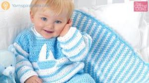 Hush A Bye Baby Crochet Blanket