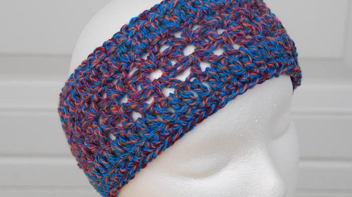 Crochet Infinity Headband Pattern