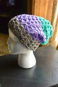 Jeanne's Crochet Hat Slouche