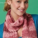 Crochet Openwork Scarf + Tutorial