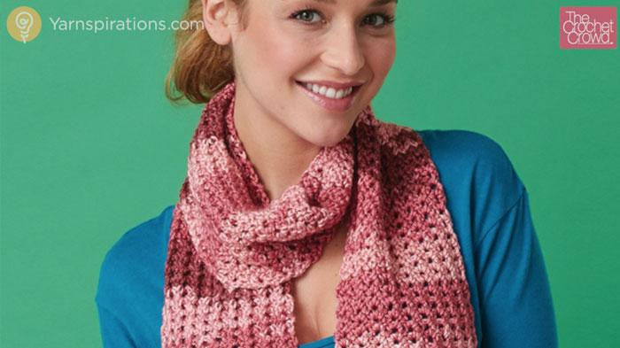 Crochet Openwork Scarf Pattern