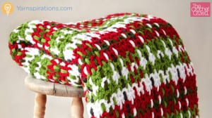 Crochet Plaid Blanket Pattern