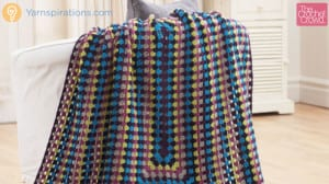 Crochet Granny Rectangular Afghan