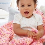 Crochet Rock A Bye Baby Blanket + Tutorial