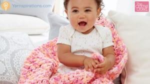 RCrochet Simple Easy Baby Blanket