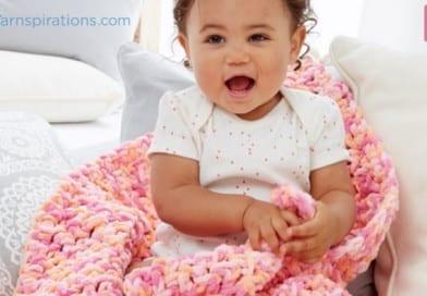 Rock A Bye Baby Crochet Baby Blanket