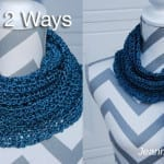 Scarf 2 Ways Crochet Pattern