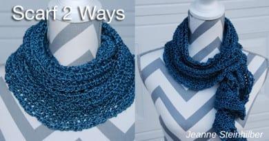 Scarf 2 Ways by Jeanne Steinhilber