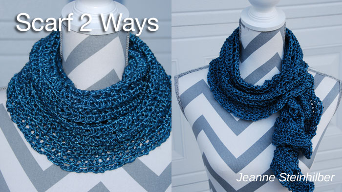 Scarf 2 Ways by Jeanne Steinhilber