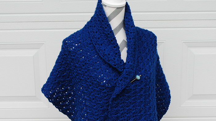 Linked Shell Shawl Pattern The Crochet Crowd