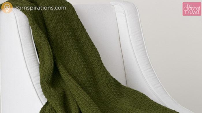 Crochet Simple Texture Afghan Pattern